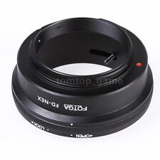 Fotga Adapter Mount Ring for Canon FD Lens to Sony NEX E NEX-3 NEX-5 CN U8L4