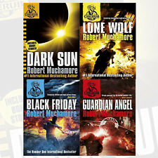 Robert Muchamore CHERUB Series 4 Books Collection Set Lone Wolf-B Format, new