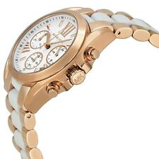 Michael Kors MK5907 Ladies Mini Bradshaw Chronograph Rose Gold Watch