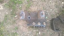 PAIR OF METAL BUMPER  BRACKET FROM  FORD IVECO TECTOR 75 E  BREAKING FOR SPARES