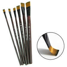 6Pcs/Set Nylon Acrylic Oil Paint Brush For Artist Supplies Watercolor Hot Sale
