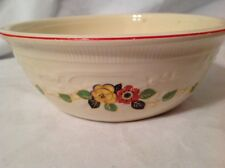 "Vintage HOMER LAUGHLIN KITCHEN KRAFT OVEN SERVE U.S.A. 8.5"" BOWL"