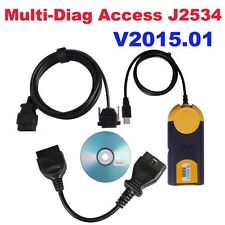 Français I-2015 Multi Diag Access Multidiag J2534 Actia OBDII OBD2 Diagnostique