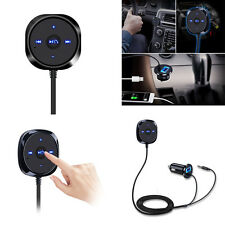 Handsfree Wireless Bluetooth 3.5mm Car Aux Audio Music Receiver USB Changer