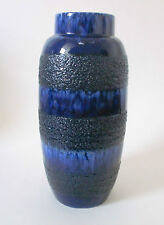 60s 70s Scheurich Keramik Vase H 38 cm ceramic west german fat lava pottery