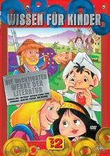 Wissen Für Kinder Vol.2 Die wichtigsten Werke d.Literatur (2011) DVD foliert NEU