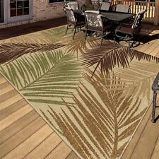 "5x8 (5'2"" x 7'6"") Tropical Coastal Island Beach Palm Indoor Outdoor Area Rug"