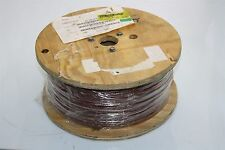 Alpha Wire HOOKUP 1000 FT 3080 BR001 Cable 12 AWG 600V 105°C Brown Tinned Copper