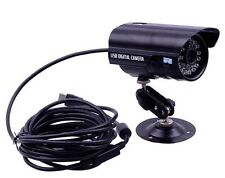 USB Wired Bullet CCTV Camera Night Vision Waterproof IN/Outdoor Network Camera