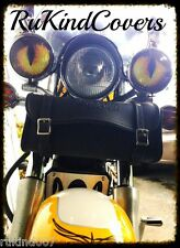 """RUKindCovers Light Yellow Eyes Universal 3"""" or 4"""" Driving , Fog or Turn Signals"""
