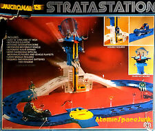 MEGO MICRONAUTS STRATASTATION IN BOX TESTED WORKING CAR ELEVATOR VINTAGE