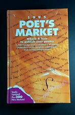 1995 POET'S MARKET WHERE & HOW TO PUBLISH YOUR POETRY HARDCOVER BOOK VERY GOOD