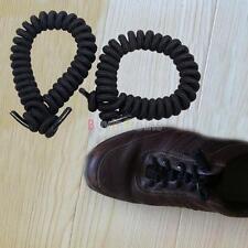 1 Pair Men Women Coil Shoelaces Elastic Curly Non Tie Shoes Sports Lace Unisex
