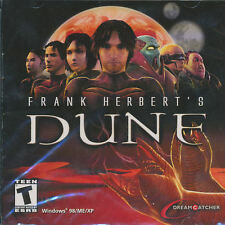 Frank Herbert's DUNE Classic 3D Adventure Dreamcatcher PC Game NEW SEALED!
