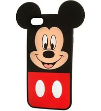 Disney Store Mickey Mouse Change Out His Face iPod Touch Clip Case/Screen Guard