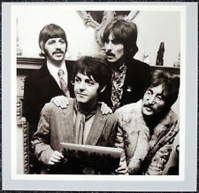 THE BEATLES POSTER PAGE . 1967 SGT PEPPER PRESS LAUNCH JOHN LENNON . H90