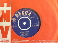 DAVE BERRY Little things / i ve got a tiger by the tail DECCA F12103