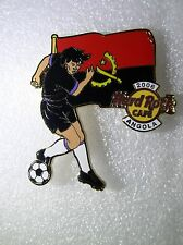 ANGOLA,Hard Rock Cafe Pin,2006 Worlds Soccer Cup Series with Flag