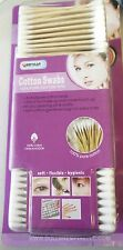 Sanitary Wooden Cotton Swab Bud Q-tip 550PC Ear Clean Makeup Double Tip GB-50311