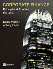 Corporate Finance Principles and Practice, Watson, Mr Denzil & Head, Antony, Use
