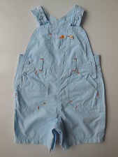 AS NEW Mothercare baby girl or boy overalls dungarees size 0000 Newborn 4.5kg