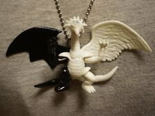 Yugioh Light And Darkness Dragon Figure Charm Necklace Anime Collectible Jewelry