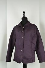 Keren Hart Women's Jacket Size L Button Down Puffy Embroidered Cute Jacket