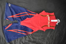 Zone3 Swim Skin Suit Mens Size XS Red - Dark Royal Blue - Gold - RRP £140