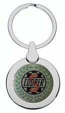 MINI COOPER S CHROME KEYRING