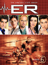 Er: Complete Sixth Season  DVD Anthony Edwards, George Clooney, Julianna Marguli