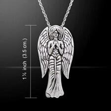Archangel Sariel .925 Sterling Silver Pendant by Peter Stone
