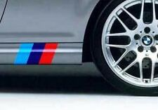 SIDESKIRTS BMW MOTORSPORTS M colors Decal Sticker AUDI any colors