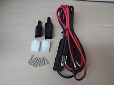 Power Cord - Dual Fused 10 guage wire for RCI 2970, and many more 6 pins RBA