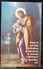 OLD BLESSED JESUS CHRIST HOLY CARD ANDACHTSBILD SANTINI    SEE MY EBAY SHOP C824