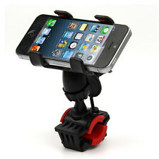 Universal 360 Bicycle Cell Phone Holders Cycling Support Stand Mount Bracket