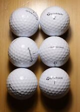 6 Taylor Made Tour Preferred MINT golf balls FREE SHIPPING refinished T5