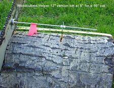 "Woodcutters Helper 12"" Firewood Measuring Tool/Chainsaw Accessories Attachment"