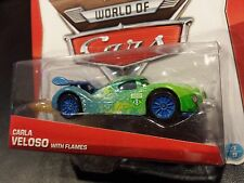 DISNEY PIXAR CARS CARLA VELOSO WITH FLAMES 2014 SAVE 5% WORLDWIDE FAST