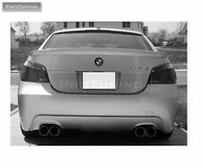 BMW E60 E61 Rear bumper twin double quad pipe exhaust diffuser M5 M Sport tech