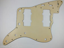 Relic AGED CREAM SCRATCH PLATE Pickguard #2 fits 1965 Fender JAZZMASTER guitar