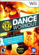 Gold's Gym Dance Workout with bonus pass Nintendo Wii Brand New Sealed