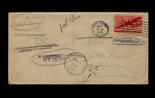 APRIL 1945 VMF M(arine) A(ir) C(orps) S(quadron)-3 forwarded to Cherry Point NC