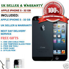 Apple iPhone 5 - 32GB - Black & Slate (Unlocked) Smartphone UK SELLER*** GRADE C
