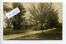 South Natick MA Mass RPPC real photo Parson Lathrop Place of Old Folks, Home