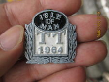 VINTAGE ISLE OF MAN TT 1964 CAFE RACER TRIUMPH AJS BSA NORTON BADGES