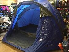 Eurohike Cairns Deluxe Five 5 Man Berth Person Dome Tent Porch Blue RRP £130