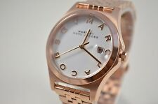 Marc Jacobs MBM3392 White Dial Rose Gold Tone Womens Bracelet Watch
