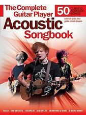 Complete Guitar Player Acoustic Songbook (2015, Paperback)
