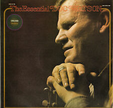 "DOC WATSON ""THE ESSENTIAL"" COUNTRY FOLK 70'S DOUBLE LP VANGUARD 45/46"