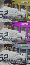 2014 CC SABATHIA PANINI PRIZM CHASING THE HALL GOLD 10/10! FREE SHIP! YANKEES!